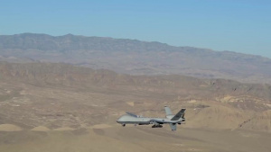MQ-9 Reaper aerial video