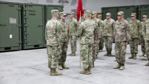 511th Engineer Dive Detachment Change of Command