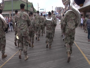 Dauntless Update: 78th Army Band Performs at the Atlantic City Celebrate America Parade