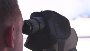 SPMAGTF-CR-AF Marines conduct a sniper range in Moron Air Base