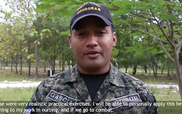 Honduran Service Members Speak About SMEEs with U.S. Counterparts