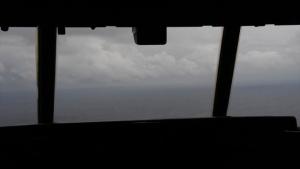 Hurricane Hunters fly through Tropical Depression Nine