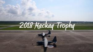 U-28A Draco Crew awarded 2018 Mackay Trophy