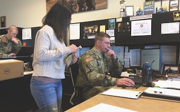 Joining the Army: walking into a recruiting office