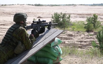 Lithuanian Land Forces Best Infantry Squad Competition B-Roll Package