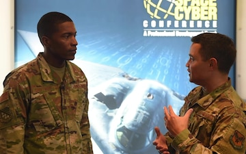 Around ASC19: Interviews of Airmen attending the 2019 Air, Space & Cyber Conference