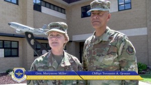 AMC Commander visits 911th ARS