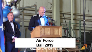 Edwards AFB celebrates Air Force birthday with Ball