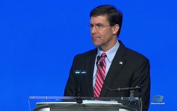 Defense Secretary Speaks at Air, Space, Cyber Conference