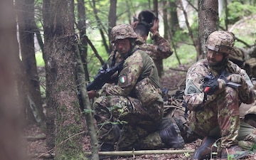Saber Junction 2019 Italian Paratroopers