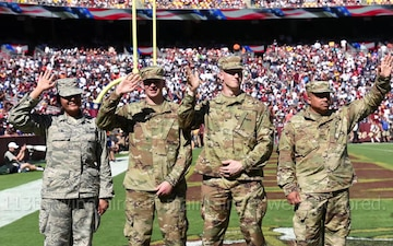 Washington Redskins Honor Air Force