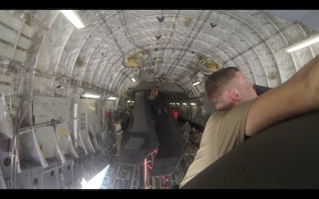2nd Battalion 82nd Combat Aviation Brigade Blade Folding, Load- Out Exercise