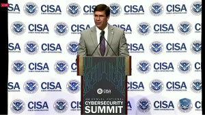 Defense Secretary Speaks at Cybersecurity Summit