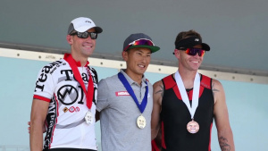 Americans, Japanese compete together in 32nd Annual MCAS Iwakuni Triathlon (B-Roll)