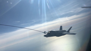 100th Air Refueling Wing refuels F-35 Lightning Sept. 16, 2019