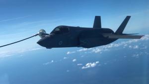 100th Air Refueling Wing refuels RAF F-35 Sept. 16, 2019
