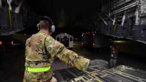 Aeromedical Evacuation Flight Training