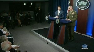 DOD Officials Conduct Pentagon News Conference