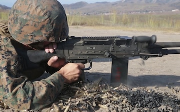 B-Roll: MAG-39 Marines conduct all arms familiarization range