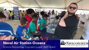 Museum Educators during STEM Day at 2019 NAS Oceana Air Show