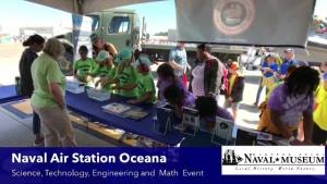 Museum Educators at 2019 NAS Oceana Air Show STEM Event