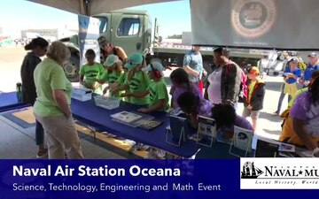 Museum Educators at 2019 NAS Oceana Air Show STEM Event