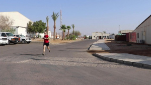 Canada Army Run Shadow Run in Sinai Egypt
