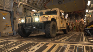 Mobility Guardian 2019 C-17 Cargo Load B-Roll
