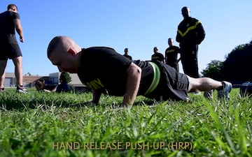 Michigan National Guard Conducts Army Combat Fitness Testing