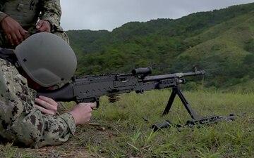 CFAO M-240 B Gun Shoot