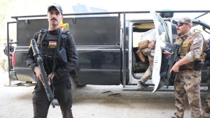 Anbar SWAT VIP escort training