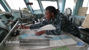 Cool Jobs: Navy Quartermaster