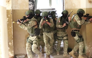 Agile Spirit 19 - Georgian and Bulgarian SOF room clearing training