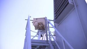 U.S. Army vessel Maj. Gen. Charles P. Gross conducts drills