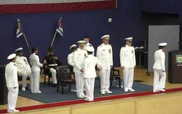 Navy Officer Candidate School (OCS) Graduation