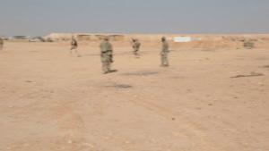 Iraqi Commandos Training