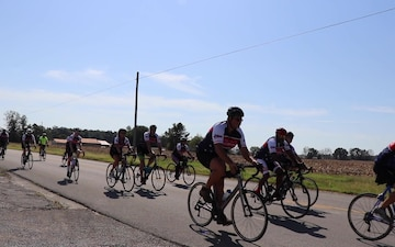 Wounded, ill and injured Soldiers, veterans, ride 101-miles for recovery