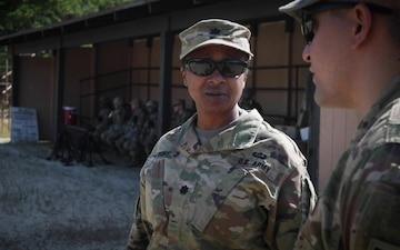 U.S. Army Lt. Col. Faye Anthony