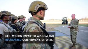Gen. Stephen W. Wilson Visits Incirlik Air Base