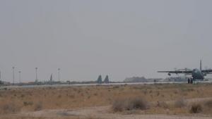 43 EECS EC-130H Compass Call Departure Social Media Cut