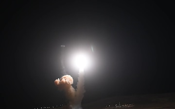 Minuteman III Launches From Vandenberg AFB - Non Narrated