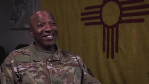 CMSAF Wright visits Kirtland AFB