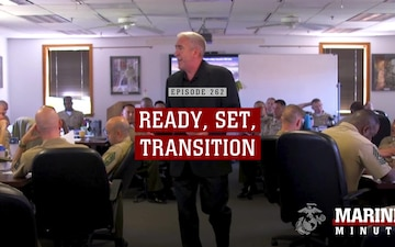 Marine Minute: Ready, Set, Transition