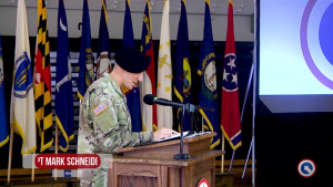 1st TSC Headquarters and Headquarters Company Change of Responsibility
