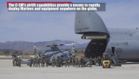 C-5M Super Galaxy lands on Marine Corps Air Station Camp Pendleton