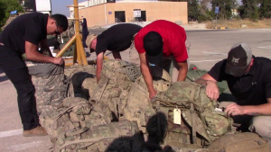 Military Police Customs Operations In Jordan