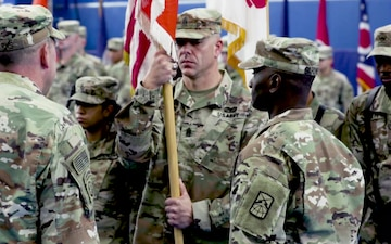 54th Signal Battalion Change of Command Ceremony