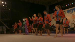 Ginowan Hagoromo Festival Kachashii Dance Contest