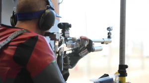 Soldiers win Gold & Silver in 3-Position Rifle at Olympic Trials Part 1