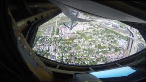 Iowa Guard Airmen conduct flyover of Memorial Stadium